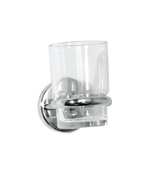 Roper Rhodes Wessex Clear Glass Tumbler And Holder