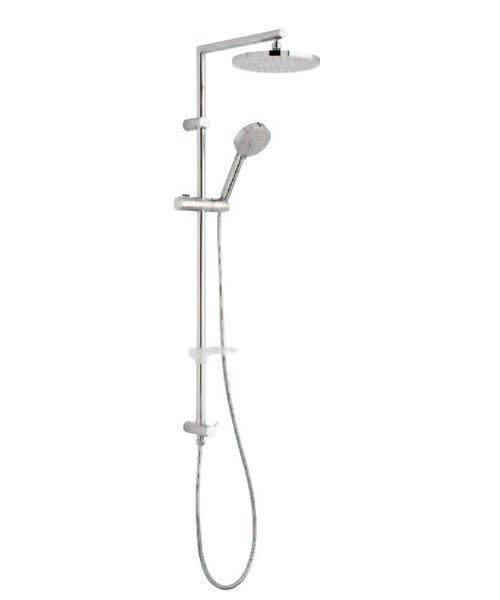 Tre Mercati Poppy Shower Pole With Multi Function Shower Handset