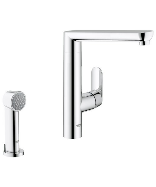 Grohe K7 Sink Mixer Tap With Side Spray
