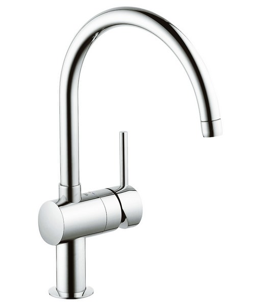 Grohe Minta Sink Mixer Tap With Swivel Spout