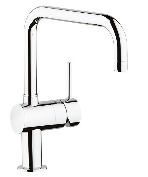 Grohe Minta Sink Mixer Tap With Square Spout