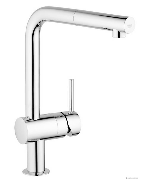Grohe Minta Sink Tap With Pull Out Spout Extractable Mousseur Chrome