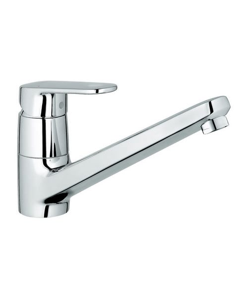 Grohe Europlus Low Spout Sink Mixer Tap Chrome