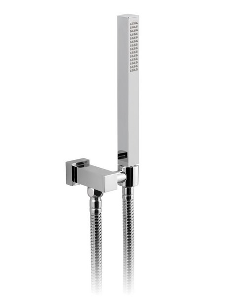 Vado Mix Single Mode Mini Shower Kit With Integral Outlet and Bracket