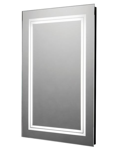 Tavistock Transmit LED Backlit Illuminated 450 x 700mm Mirror Portrait