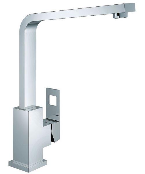 Grohe Eurocube 1-2 Inch Kitchen Sink Mixer Tap Chrome