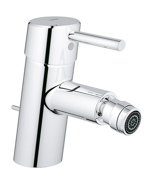 Grohe Concetto 1-2 Inch Monobloc Bidet Mixer Tap With Pop Up Waste