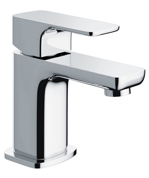 Additional image of Pura Flite Single Lever Chrome Basin Mixer Tap With Clicker Waste