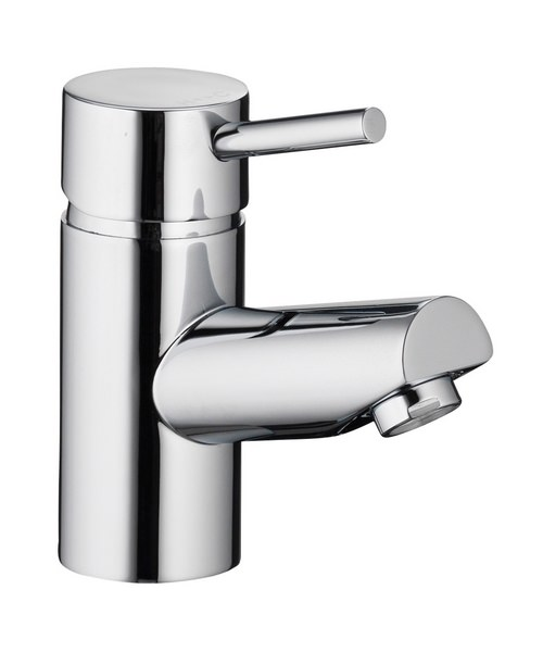 Additional image of Pura Xcite Basin Single Lever Chrome Mixer Tap With Clicker Waste