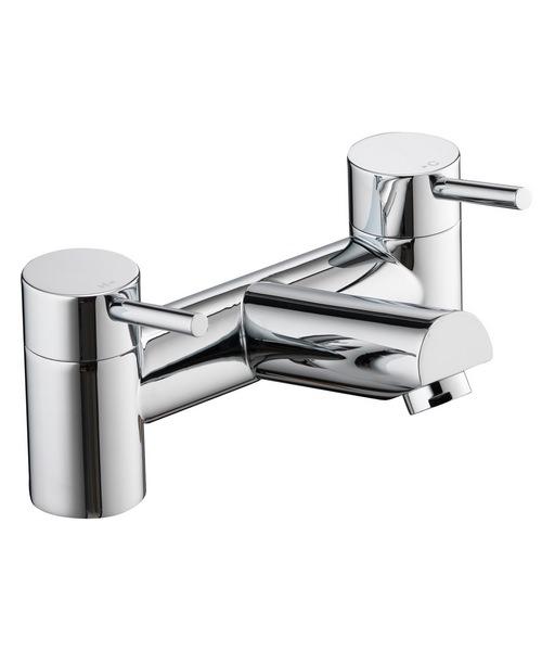 Pura Xcite Deck Mounted Chrome Finish Bath Filler Tap
