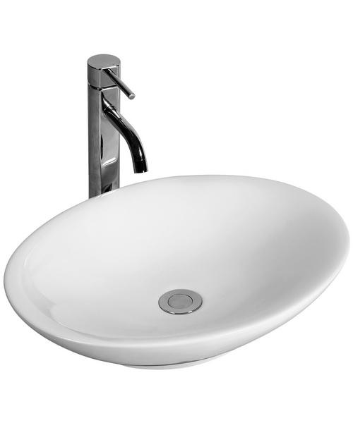 Pura Fyori 500mm Elliptical Bathroom Sink
