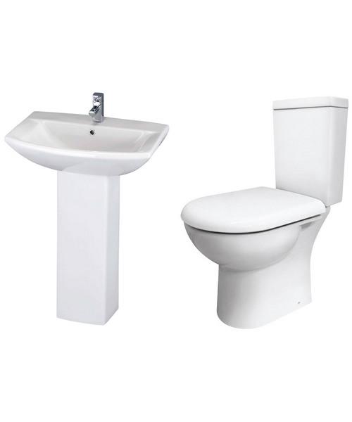 Lauren Knedlington Basin And Toilet Set