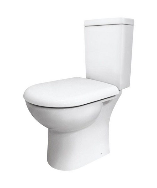 Lauren Knedlington Close Coupled Short Projection WC Pan 610mm And Cistern