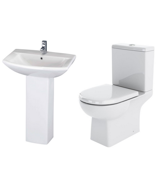 Lauren Asselby Basin And Toilet Set