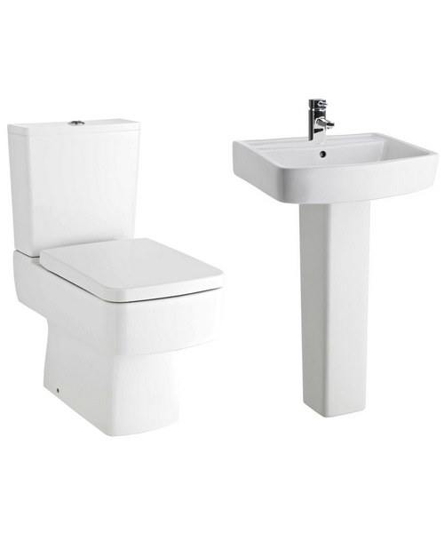 Lauren Bliss Basin And Toilet Set