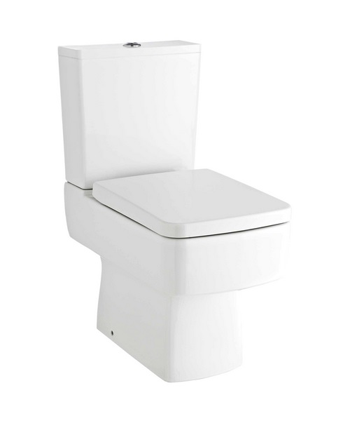 Premier Bliss Close Coupled Short Projection Compact WC Pan 610mm And Cistern