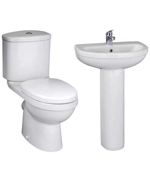Lauren Ivo Basin And Toilet Set