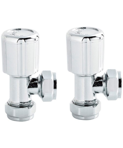 Lauren Pair Of Angled Radiator Valves