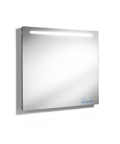 Roca Innova 1000mm Wall Hung Mirror With Light And Radio. Roca Innova 1000mm Wall Hung Bathroom Mirror