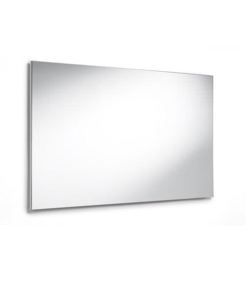Roca luna rectangular bathroom mirror 1000mm for Bathroom mirror cabinets 900mm and 1000mm