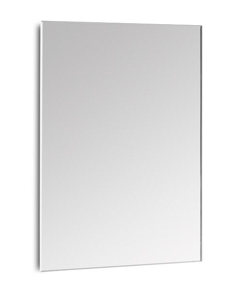 Roca luna rectangular bathroom mirror 800mm for Mirror 900 x 800