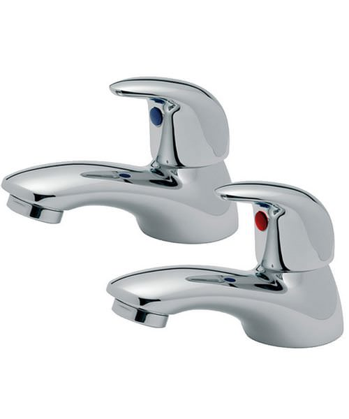 Tre Mercati Novara Pair Of Basin Taps