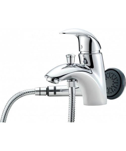 Tre Mercati Novara Mono Bath Shower Mixer Tap Complete With Kit