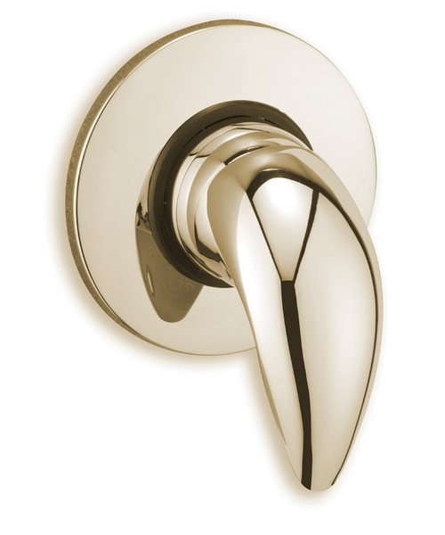 Tre Mercati Novara Exposed Concealed Manual Shower Valve Antique Gold