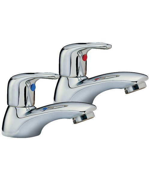 Tre Mercati Latina Pair Of Bath Taps Chrome