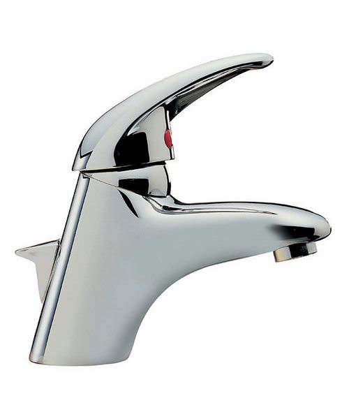 Tre Mercati Latina Chrome Mono Basin Mixer Tap With Pop Up Waste