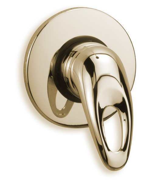 Tre Mercati Latina Exposed Concealed Manual Shower Valve Antique Gold