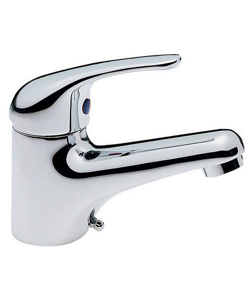 Tre Mercati Modena Mono Basin Mixer Tap Chrome