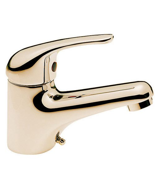 Tre Mercati Modena Mono Basin Mixer Tap Antique Gold