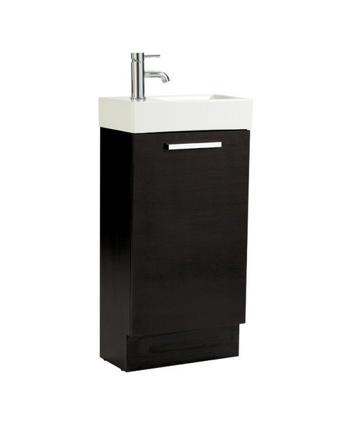 Phoenix Cube Negro Base Unit And Basin 900 x 450mm