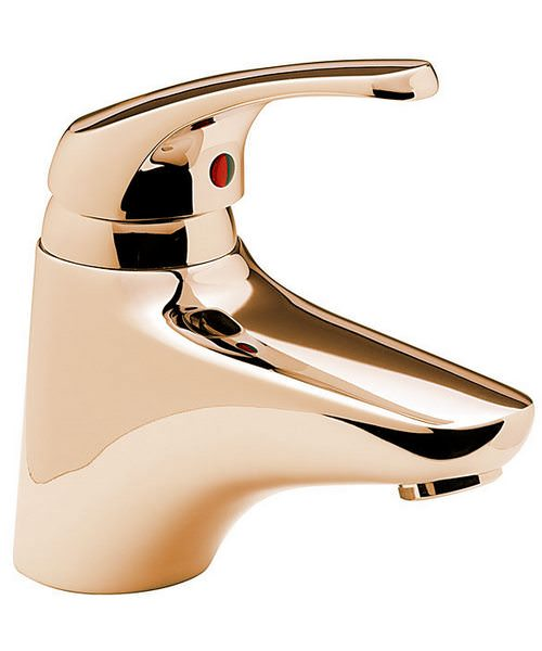 Tre Mercati Modena Mono Bath Filler Tap Antique Gold
