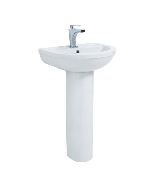 Phoenix Emma Basin And Pedestal 830 x 560mm