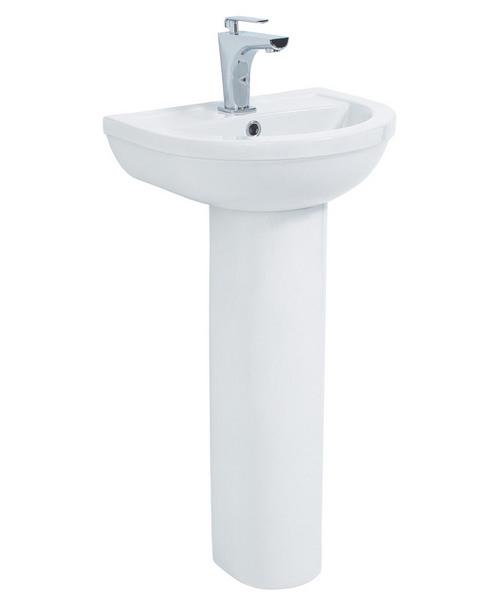 Phoenix Emma 450mm Basin With Full Pedestal