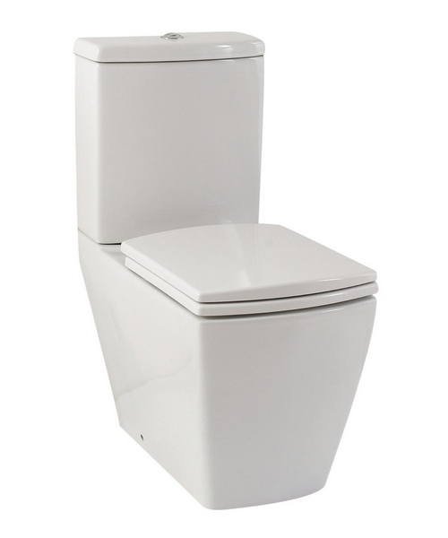 Phoenix Mac Q Pan With Cistern And Luxury Soft Close Seat