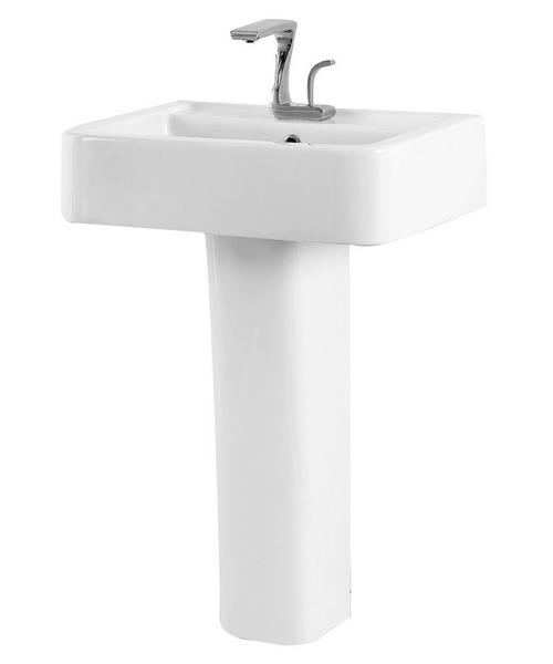 Phoenix Mac Q 570mm Basin And Full Pedestal