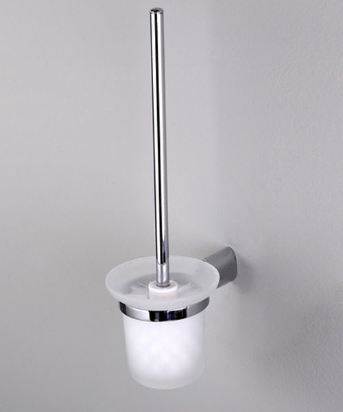 Phoenix Oval Toilet Brush And Holder