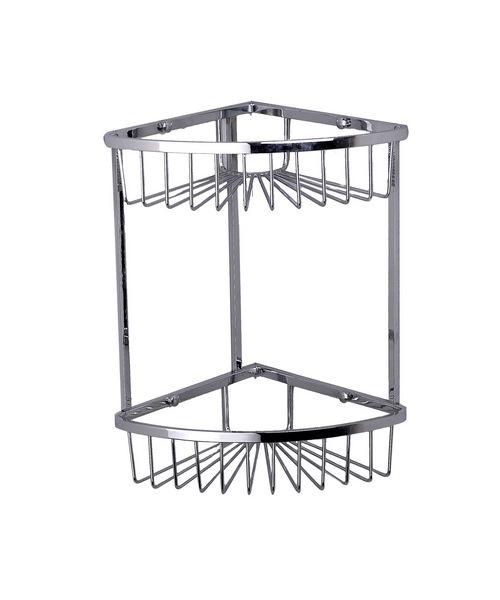 Phoenix Wire Double Corner Soap Basket 320 x 200mm