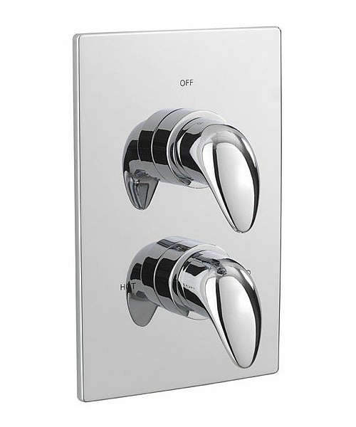 Tre Mercati Modena Thermostatic Concealed Shower Valve