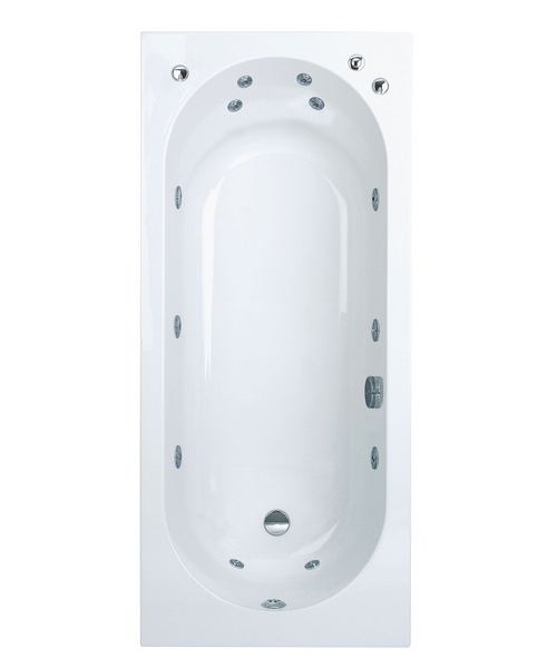 Phoenix Modena System 1 Single Ended Whirlpool Bath 1700 x 750mm