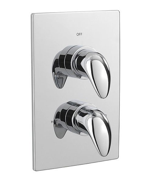 Tre Mercati Modena Thermostatic Concealed Shower Valve With 2 Way Diverter