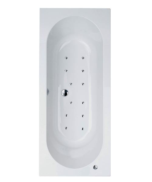 Phoenix Petrus System 2 Double Ended Airpool Bath 1700 x 700mm