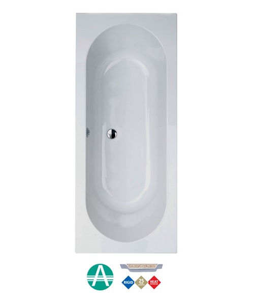 Phoenix Florence Amanzonite Double Ended Bath 1800 x 800mm