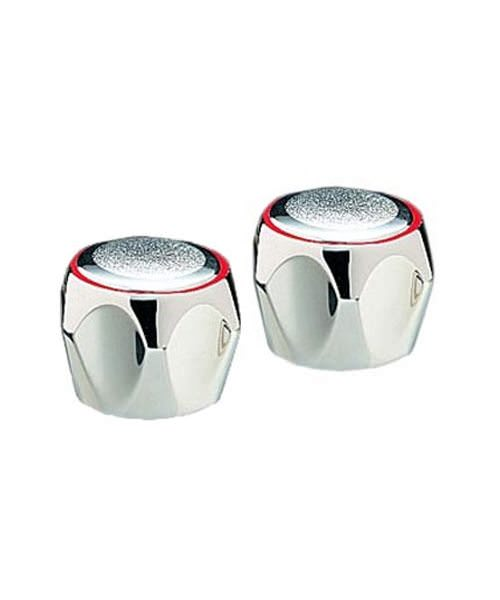 Tre Mercati Capri Chrome Pair Of Mazak Heads