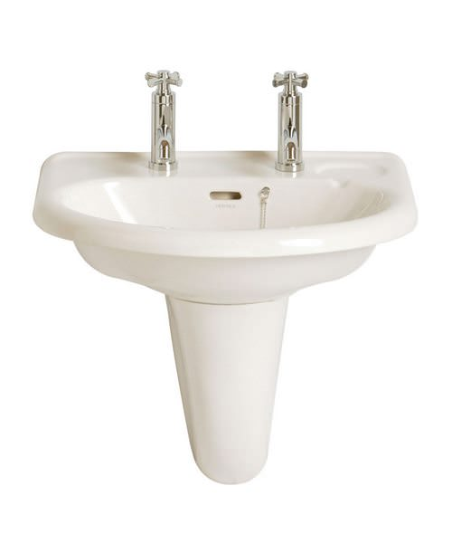 Heritage Belmonte 2 Taphole Wall Hung Basin