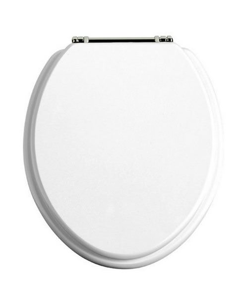 Heritage Standard White Gloss WC Seat
