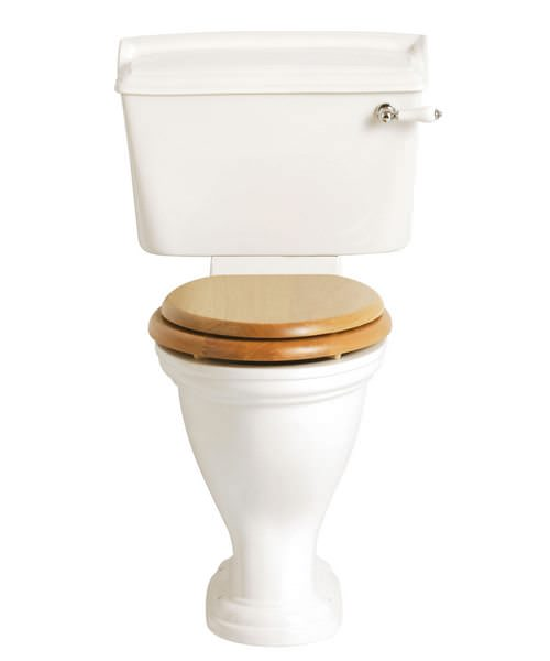 Heritage Dorchester Comfort Height WC And Cistern